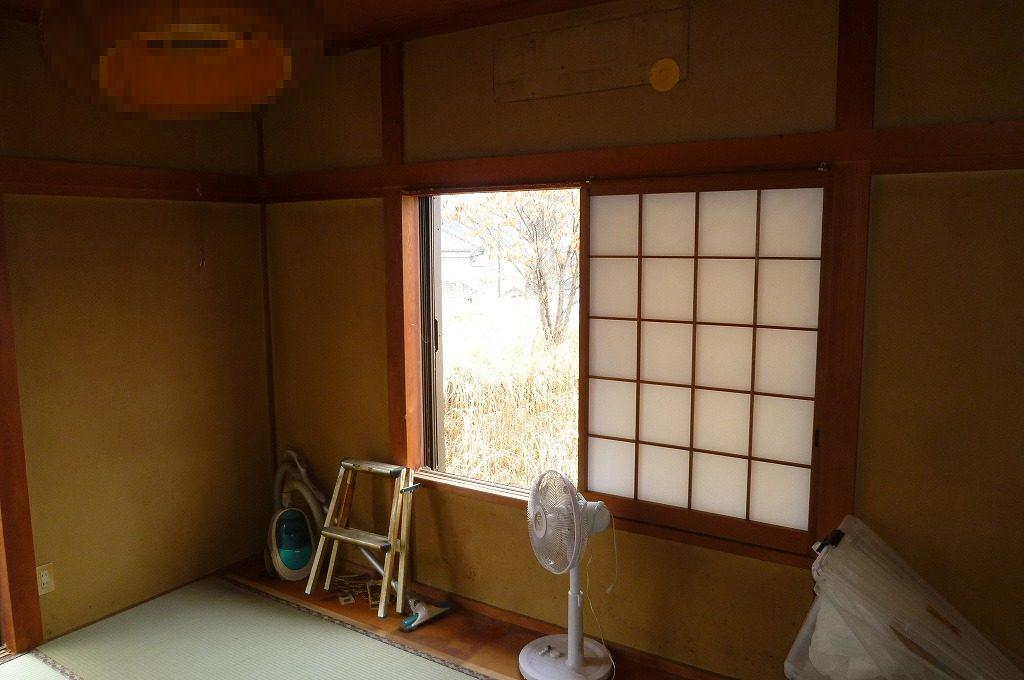 和室の壁を塗り替えDIY