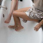給湯器の水漏れかな?ポタポタと基礎に水濡れ修理diy