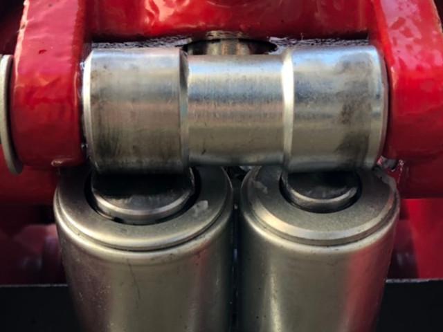 油圧ジャッキ ツインピストンで軽々作業!