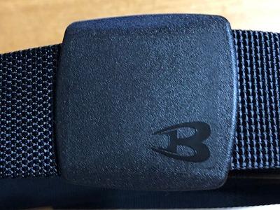 バックルはバートルの「B」が、かっこいい